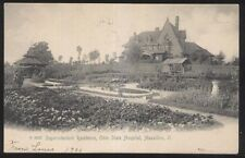 Postcard MASSILLON Ohio/OH  State Hospital Superintendent's House/Home view 1906