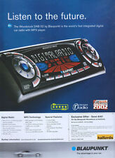 "Blaupunkt ""Listen To The Future"" 2003 Magazine Advert #155"