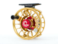 NAUTILUS X-FRAME X-SERIES XL #6-7 WEIGHT FLY REEL IN CUSTOM GOLD FREE U.S. SHIP