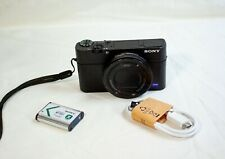 Sony DSC-RX100 III 20.1 MP Compact Digital Camera - Black, READ