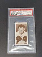 1938 Churchman #36 Paolino Uzcudun Boxing Personalities PSA 6 EX-MT