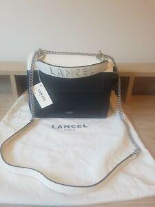 LANCEL Italian Designer Ninon Flap Bag