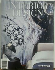 Interior Design Number 9 August 2014 Room For Art FREE SHIPPING sb