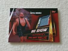 Topps WWE Slam Attax Universe Big Show Authentic Ring Mat Relic Card