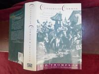 CUSTOMS in COMMON by E.P.THOMPSON/ENGLAND/SCARCE 1991