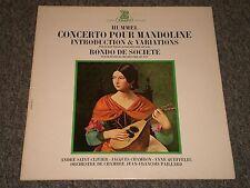 Hummel: Concerto Pour Mandoline~Hautbois~Paillard~French IMPORT~Erato STU 70700
