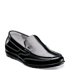 NUNN BUSH CALE DUAL COMFORT SLIP ON LOAFERS CASUAL SHOES MENS SIZE 8.5 BLACK NEW
