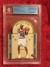 2003-04 Upper Deck SE Die Cut All-Stars Michael Jordan #SE1 BGS Authentic