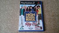 High School Musical: Sing It (Sony PlayStation 2, 2007) - European Version