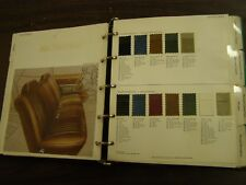 OEM Ford Dealers 1972 Mercury Color Trim Facts Book Comet Cyclone Cougar Montego