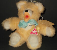 Clemens Teddy Bear Spieltiere VINTAGE 1988 West Germany Musical Draw Cord