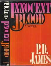 Innocent Blood.  by P. D. James. N.Y. 1980 Signed First Edition. in D/J.