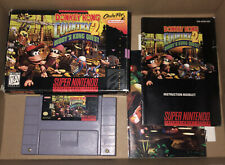 """Super Nintendo SNES Donkey Kong Country 2: Diddy's Kong Quest """"Complete in Box"""""""
