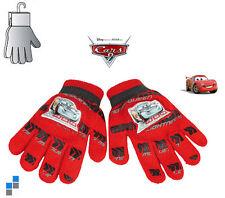 Disney Cars Kinderhandschuhe Jungen Winter Handschuhe mit PVC Aufdruck NEU
