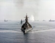 Battle group with USS Iowa USS Coral Sea and USS Saratoga Photo Print