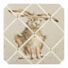 Wrendale Designs 'Hare Brained' Fabric Notice Board