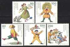 Germany 1994 Books/Writer/Cartoons/Cats 5v set (n28298)