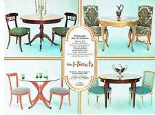 Publicité Advertising 107  1977   meubles & sièges de style Hirch