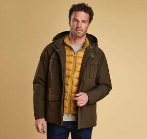 Barbour Whitstable Waterproof Jacket  Olive XL