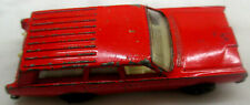 1968 Lesney Matchbox No. 55 or 73 Red Mercury Station Wagon w/ Dogs Rolls Nice