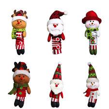 Peluche Poupée Ressort Ornament Père Noël Bonhomme Gadget Decor Noël Enfant NF