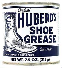 Original HUBERD'S SHOE GREASE Leather & Boot Waterproofing Conditioner HUBERDS