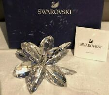 BRAND NEW SWAROVSKI CRYSTAL CLEAR LARGE LILY FLOWER   5117446 RRP £249