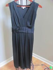 Liz Lange MATERNITY Black COCKTAIL Party formal dress TIE BACK Dress M NEW