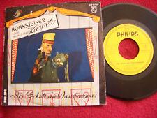 Der Hohnsteiner Kasper - Der Schatz des Wassermannes    rare 7 inch Philips 45
