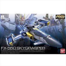 Bandai 1/144 RG-06 RG-6 Gundam FX-550 SKYGRASPER LAUNCHER/SWORD Pack from Japan