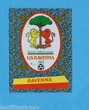 PANINI CALCIATORI 2000/2001- Figurina n.553- RAVENNA - SCUDETTO/BADGE -NEW