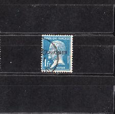 timbre France   Pasteur  1f bleu surchargé spécimen   NUM: 179 CI 1  oblitéré
