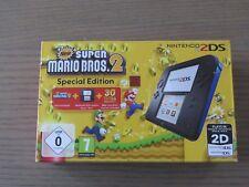 CONSOLE NINTENDO 2DS NEW SUPER MARIO BROS 2 PAK NEUF NIEW 3DS