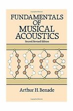 Fundamentals of Musical Acoustics: Second Revised Edition (Dove... Free Shipping