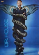 DR HOUSE - A2 Poster (XL - 42 x 55 cm) - Hugh Laurie Clippings Fan Sammlung NEU