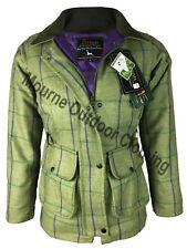 Ladies Women Eirinn Country Wear Derby Hunting Tweed Jacket Teflon Shooting Coat