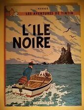 TINTIN - L'ILE NOIRE - édition B37 1968 - TBE