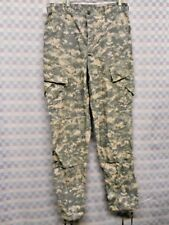 US ARMY MENS TROUSERS ACU COMBANT UNIFORM DIGITAL COMOUFLAGE LARGE SHORT