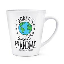 world's mejor abuela 341ml Latte Taza - Regalo Divertido Regalo Abuela