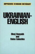 Ukrainian-English Standard Dictionary With Complete Phonetics Hippocrene Stan