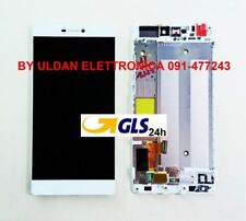 "TOUCH SCREEN VETRO + LCD DISPLAY + FRAME Huawei P8 5,2"" GRA-L09 Bianco - GLS 24H"
