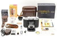 【Exc+5 w/ BOX】 Mamiya Six 6 IV B 6x6 75mm f3.5 from JAPAN #1088