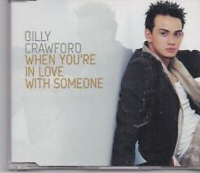 Billy Crawford-When Youre In Love With Someone Promo cd single