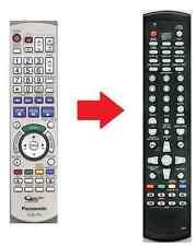 Ersatz Fernbedienung Panasonic EUR7659Y60 DMR-ED55 DMR-ED56 DMR-ED65 DMR-EH56