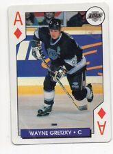 1X WAYNE GRETZKY 1995 96 Hockey Aces VG ACE Of DIAMONDS LA KINGS