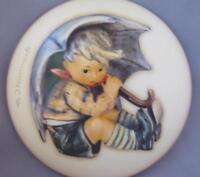 M I Hummel Goebel Porcelain Box Umbrella Boy Germany New