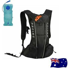 2L New Black KTM Motorcycle Bike Riding Water Bag Hydration Camel Pack Backpack