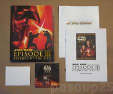 STAR WARS Ep. III: REVENGE OF THE SITH - Original Home Video Press Kit (2003)