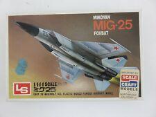 LS MIKOYAN MIG-25 FOXBAT 1/144 Scale Model Kit UNBUILT