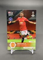 2021 Topps Now UEFA Europa League Amad Diallo Rookie Card Manchester United 1 RC